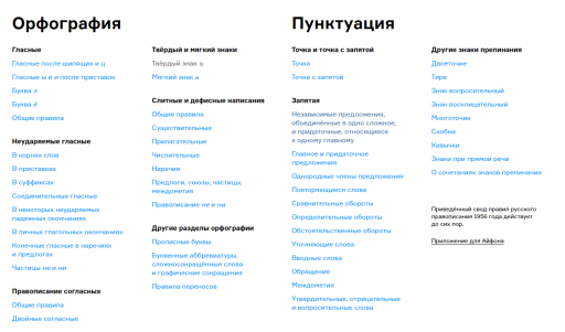 Сайт therules.ru